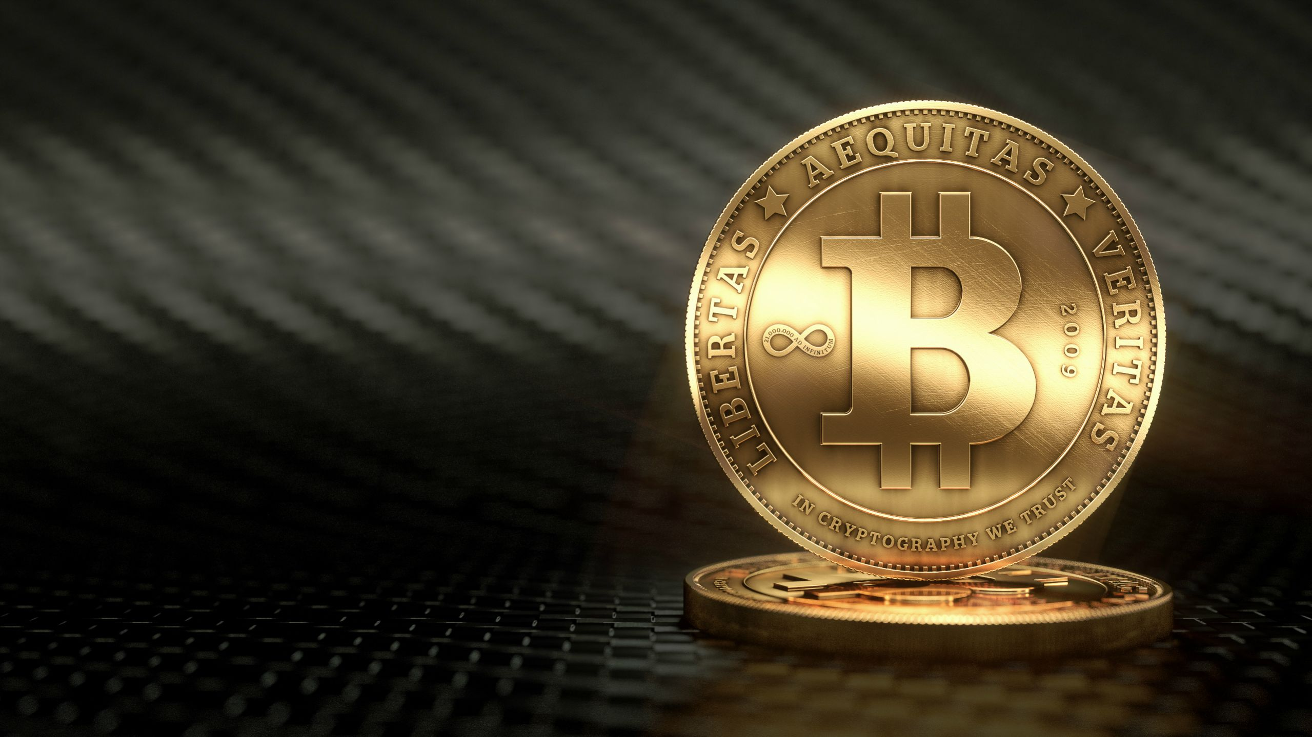 65 Bitcoin HD Wallpapers Background Images 2559x1439
