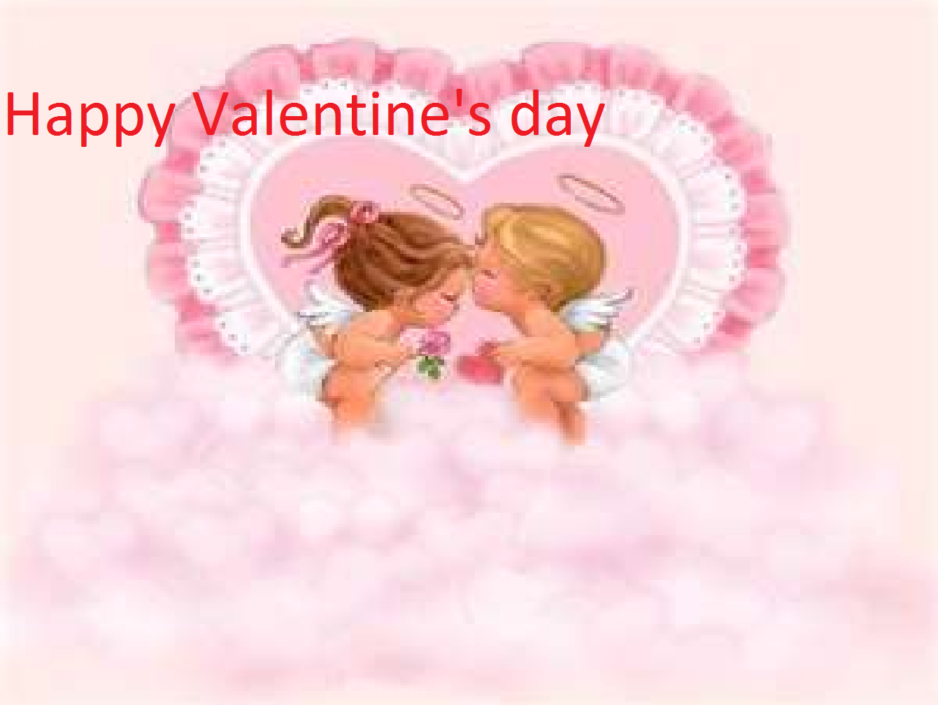 Cute Happy Valentines Day Card Wallpaper photos Happy Valentines 1341x1008