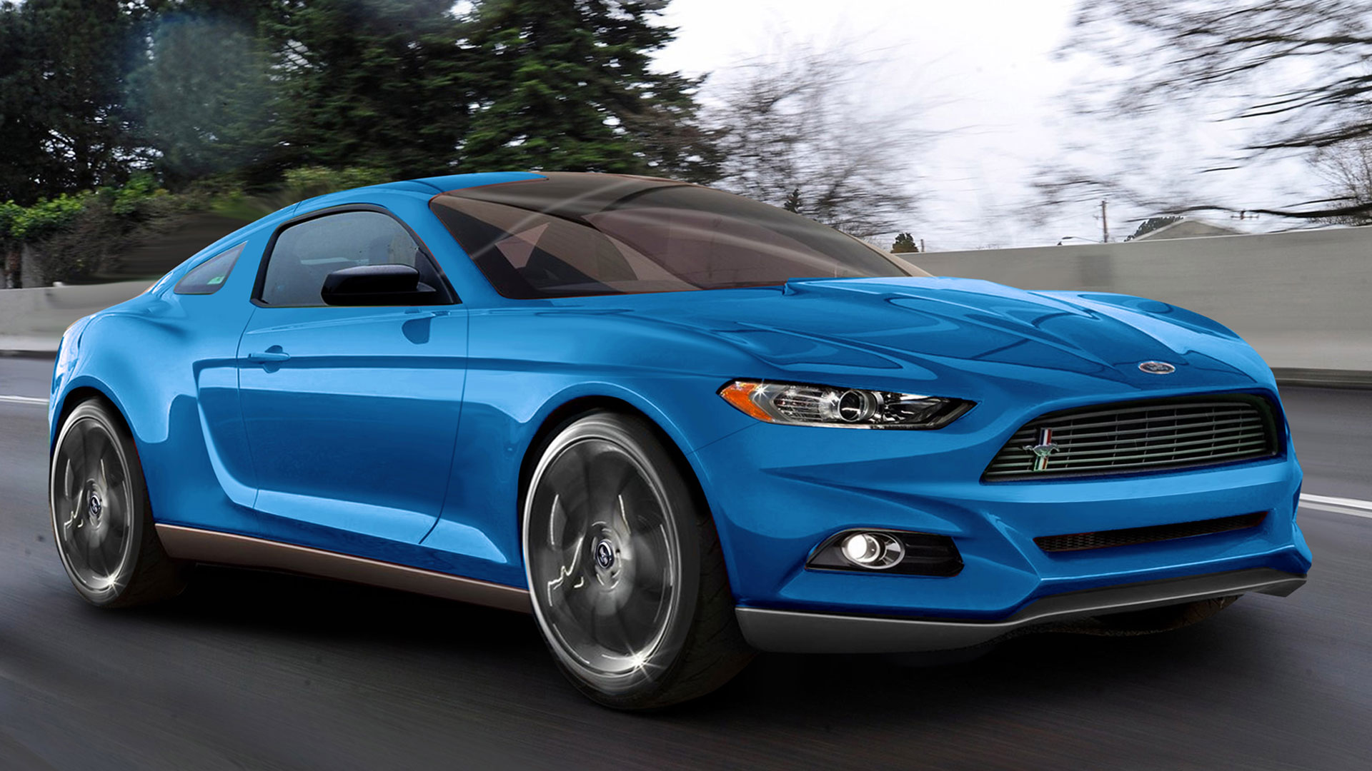 2015 Ford Mustang GT HD Wallpaper   HD 1920x1080