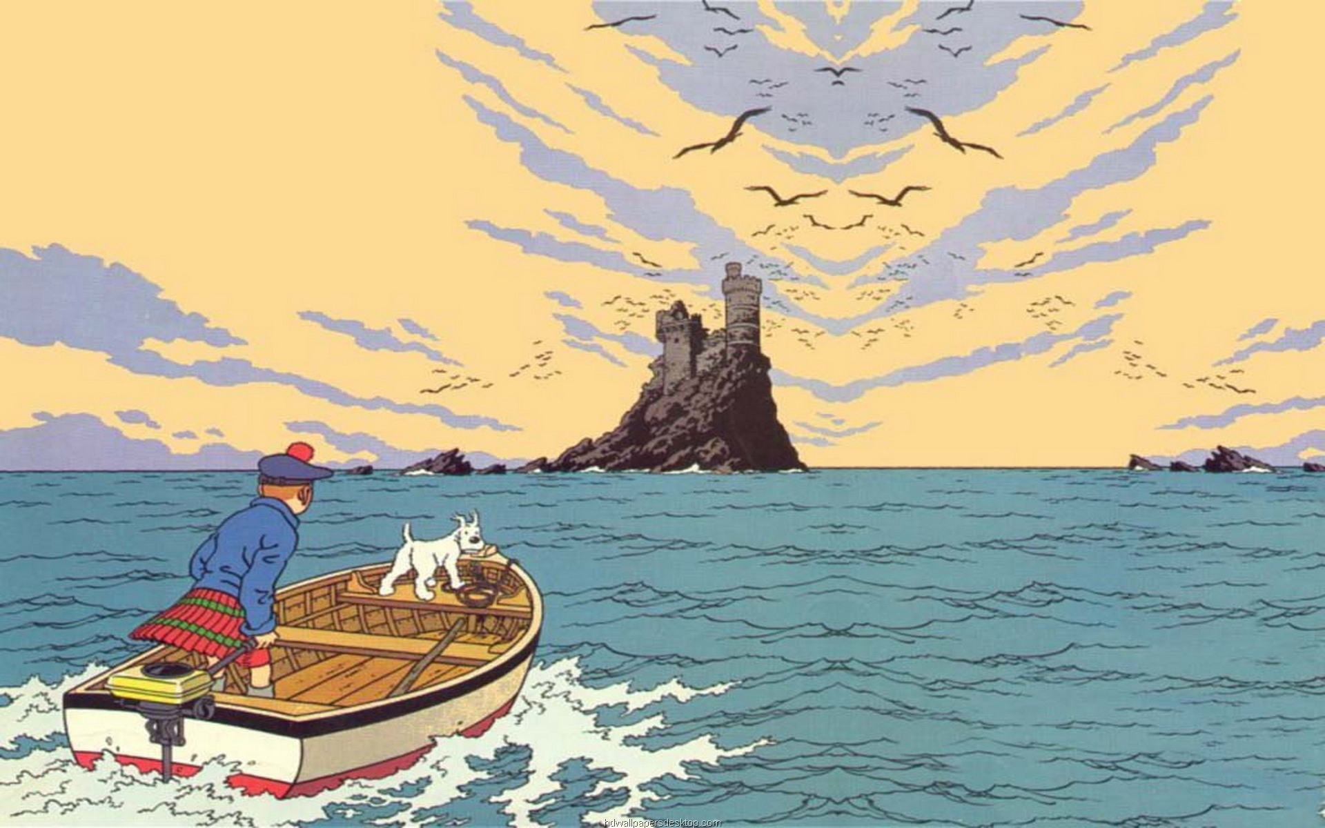 tintin and snowy wallpaper - photo #20