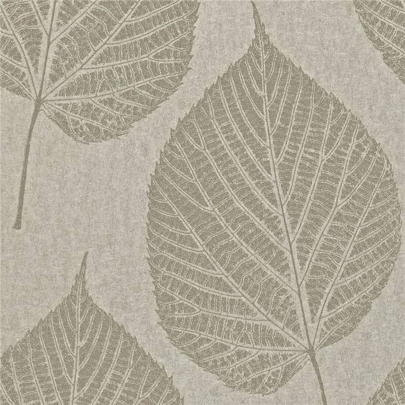Grey Silver   110376   Leaf   Momentum 2   Harlequin Wallpaper 800x800