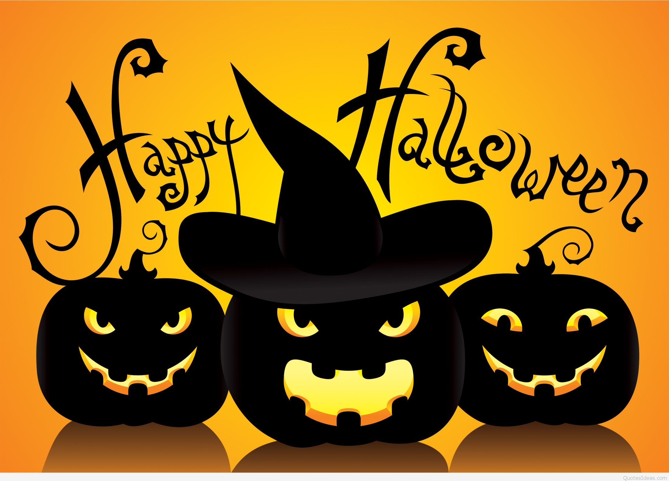 Cute happy Halloween quotes sayings and hd wallpapers 2200x1584