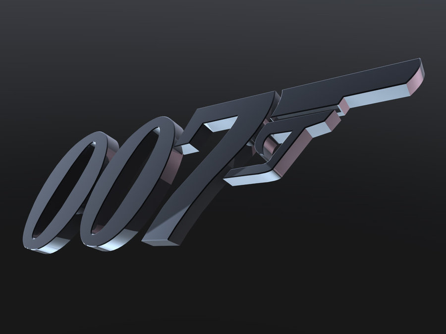 007 Logo Wallpaper 3d 007 logo 10   wallpaper by 900x675