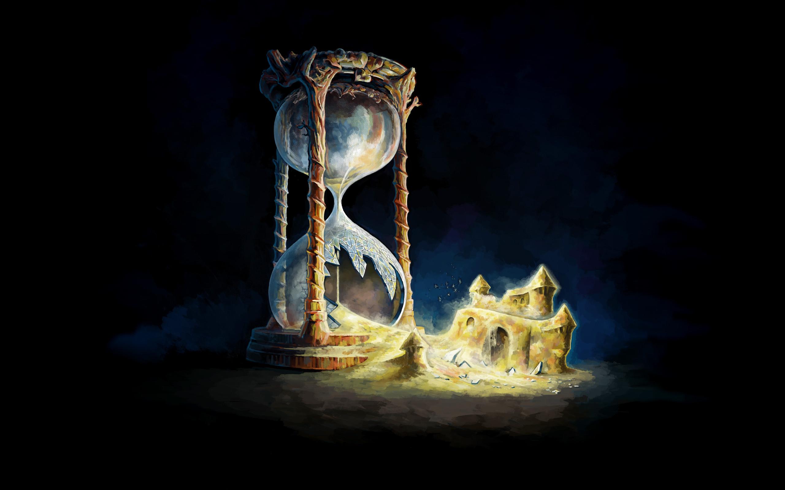 Hourglass Wallpaper 2560x1600