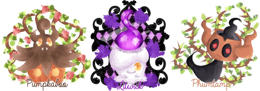 POKEMON   CUTE GHOST TYPE TRIO by Pochips 1024x360