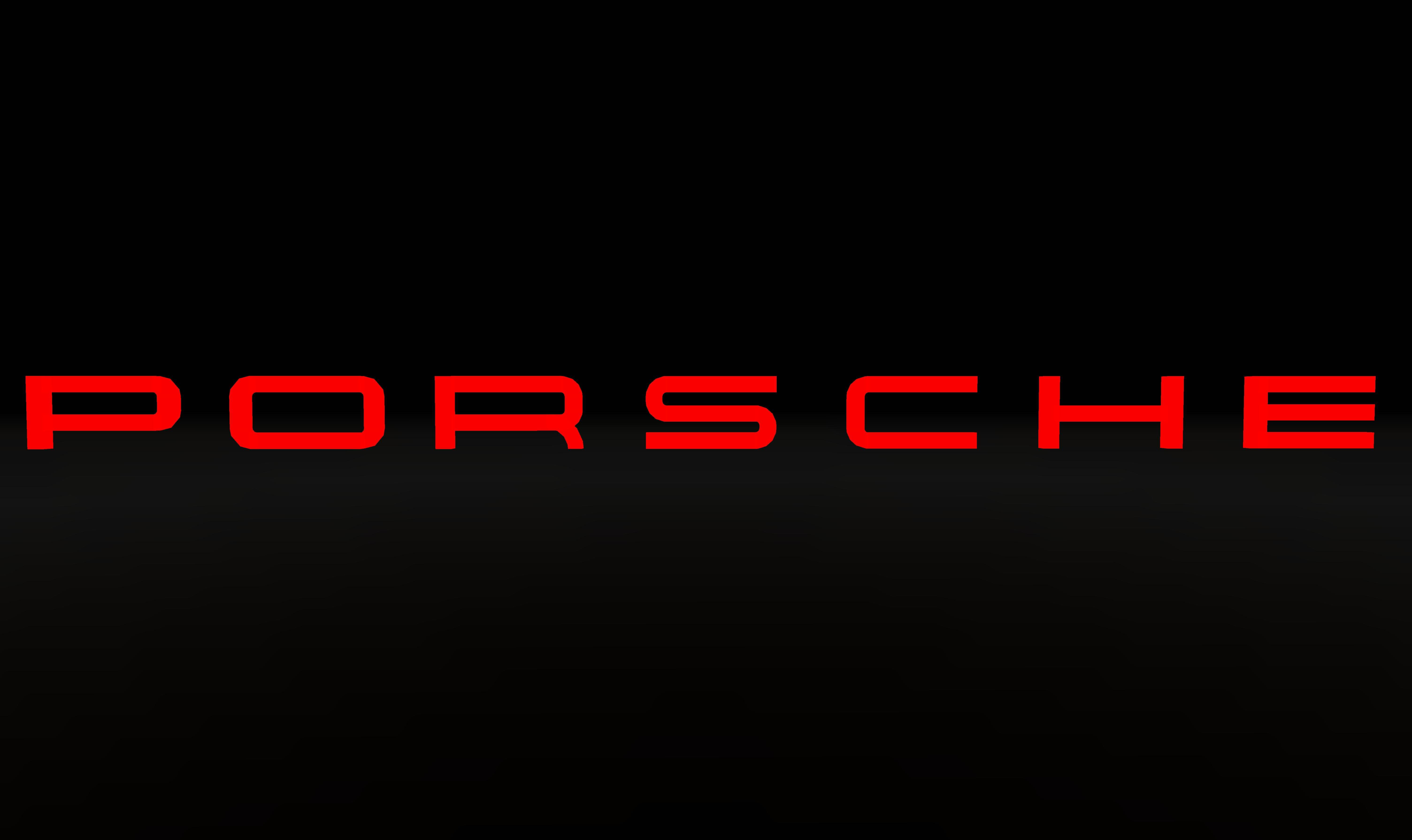 Porsche Logo Wallpapers 6016x3580