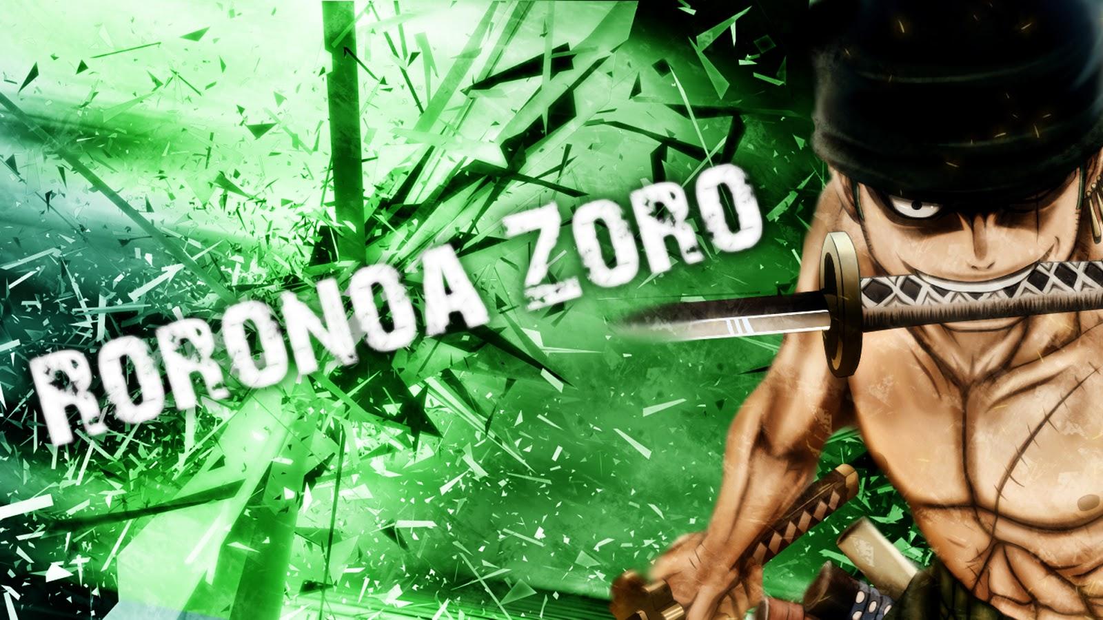 Roronoa Zoro Wallpaper Perfect Wallpaper 1600x900
