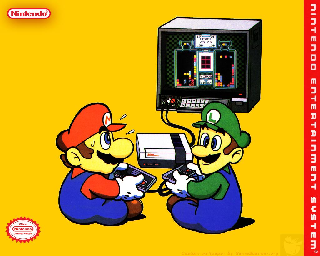 Walls of Gaming Retro Nintendo Wallpaper 1024x819