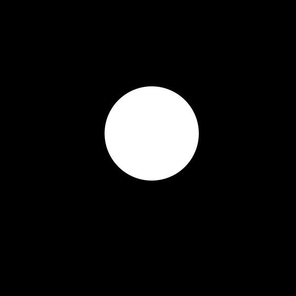 ... black dot against the white background. Figure 2: Notice how the white