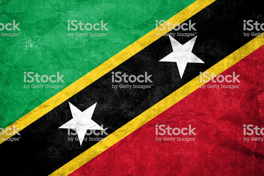 Flag Of Saint Kitts And Nevis Stock Photo More Pictures of 1024x683