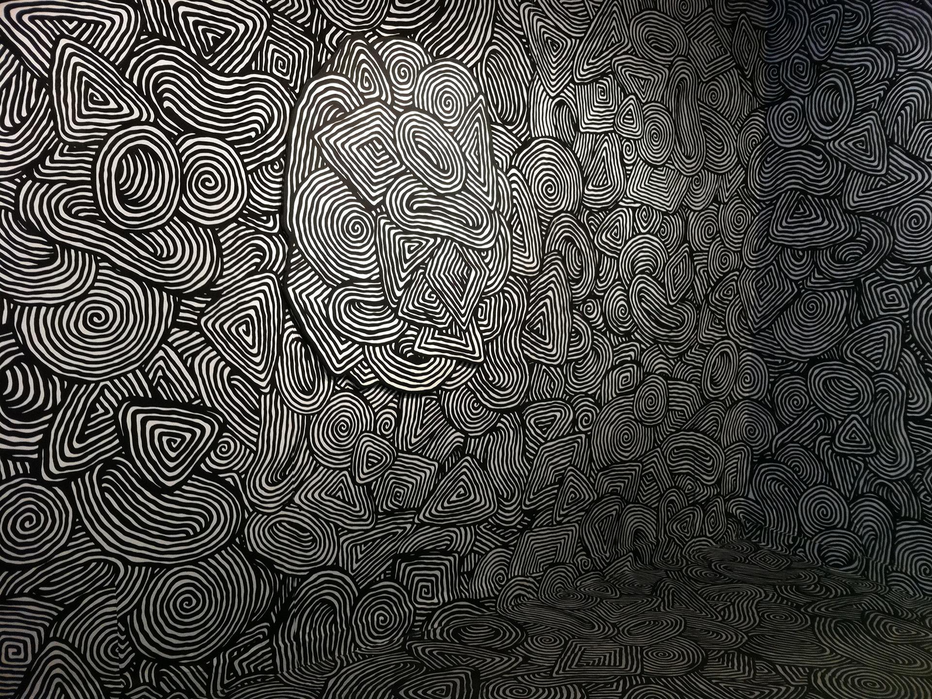 Pattern Texture Spiral Black White Design Wallpaper 1920x1440 Full 1920x1440