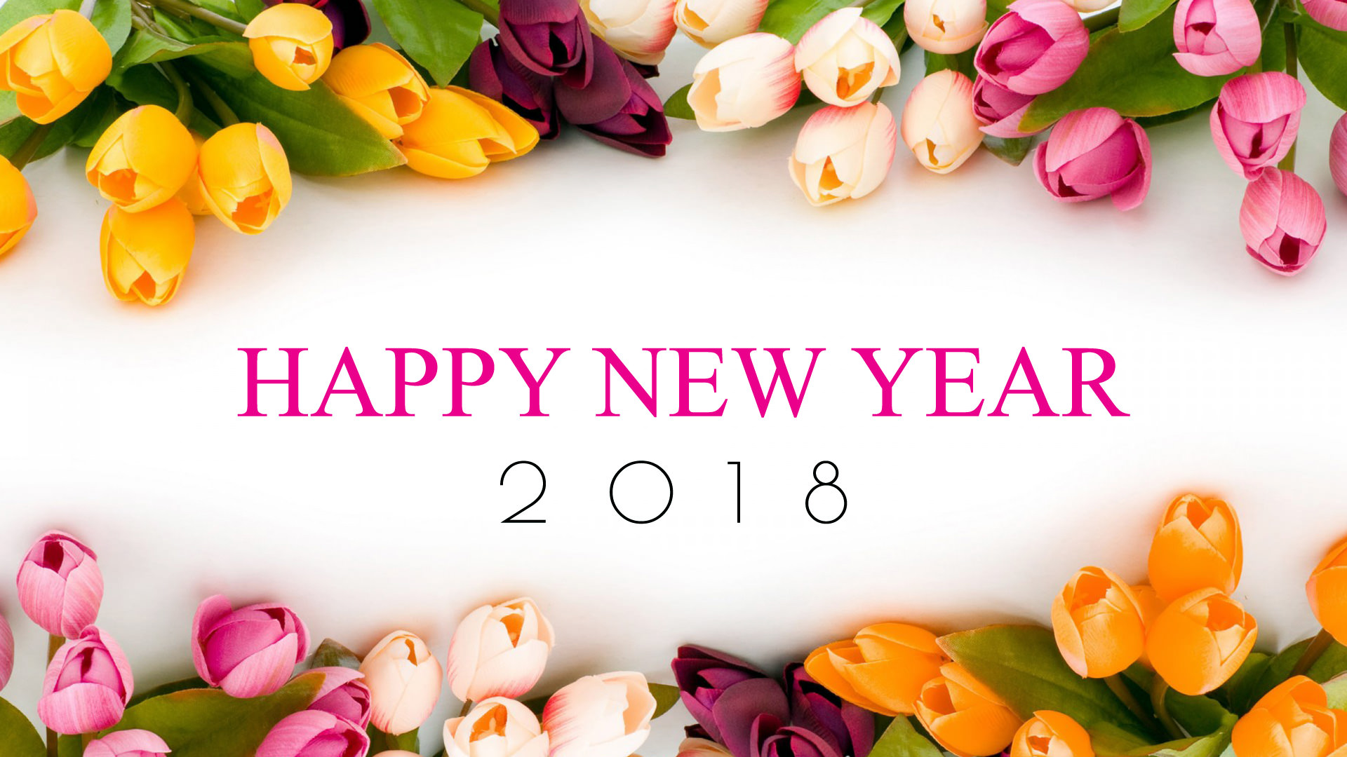 Happy New Year Flowers Hd Images Flowers Healthy