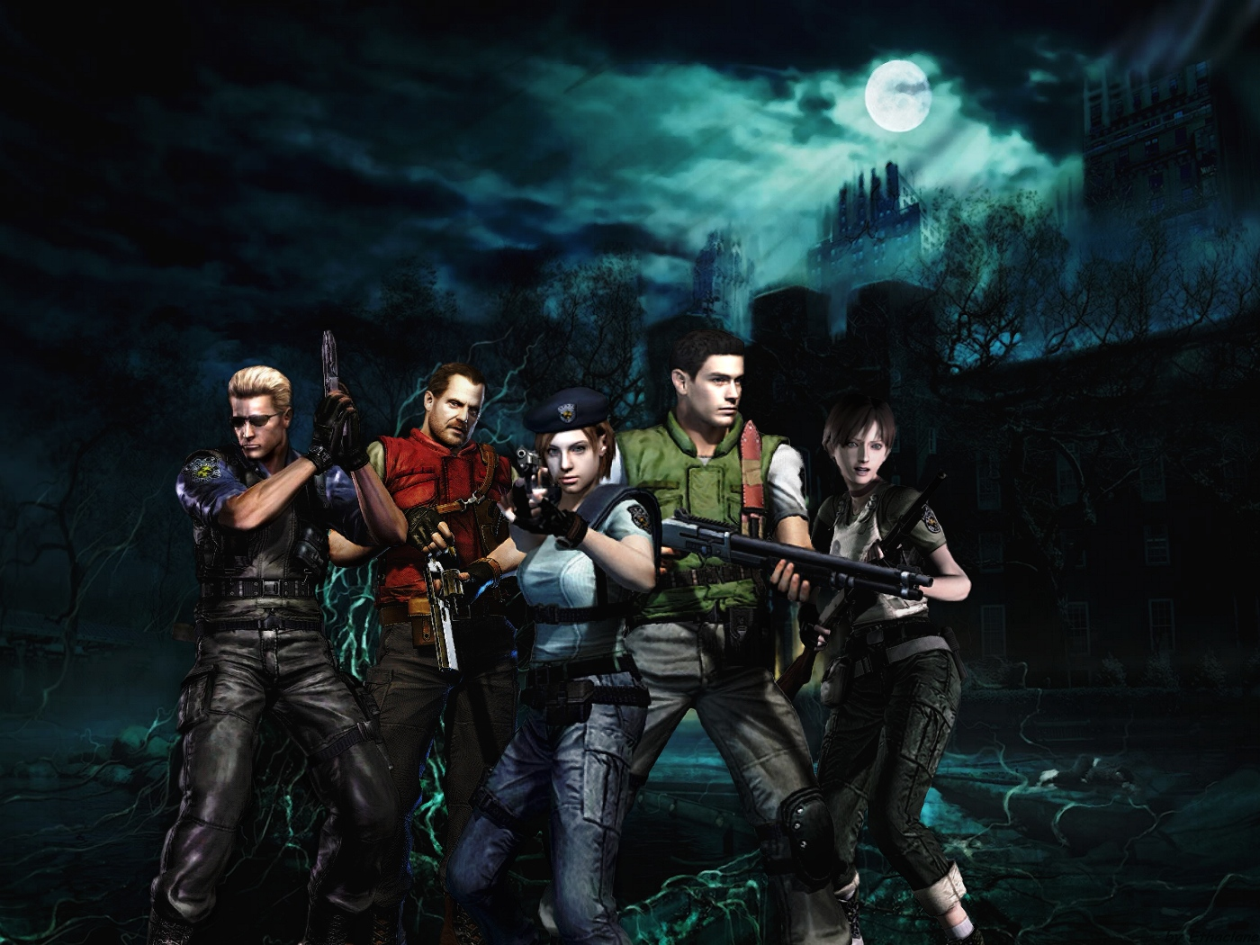 76 Resident Evil Wallpaper On Wallpapersafari