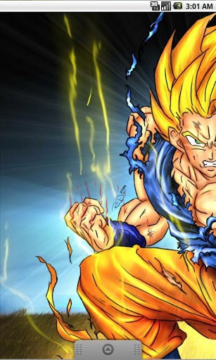 Download Goku HD Live Wallpaper For Android By Creator 307x512