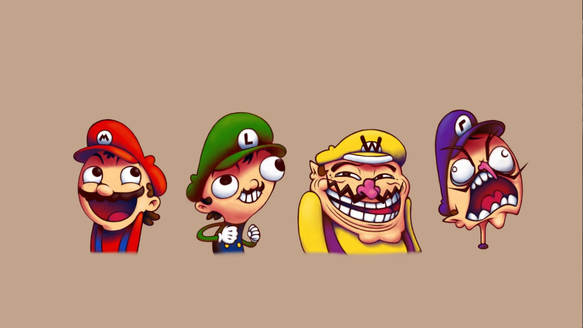 Download Meme Faces Super Mario HD Wallpaper 5004 Full Size 1920x1080