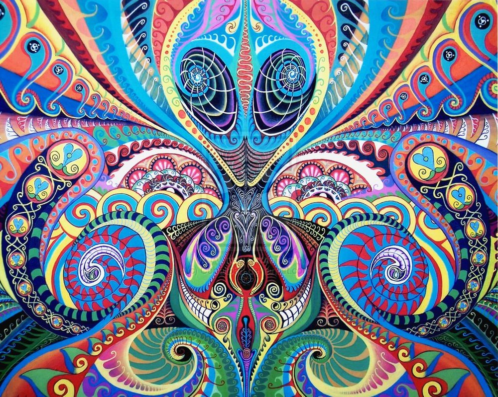49 Trippy Alien Wallpaper On Wallpapersafari