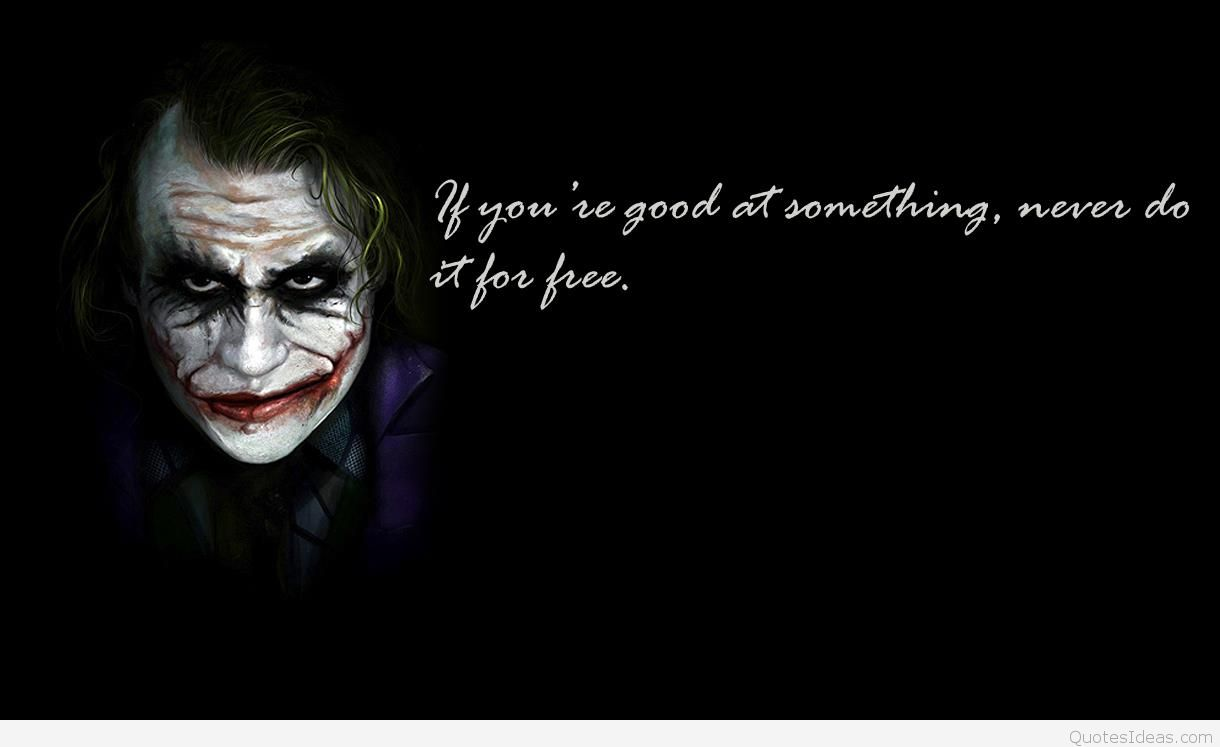 The Joker Quotes Wallpapers posted by Michelle Mercado 1220x747