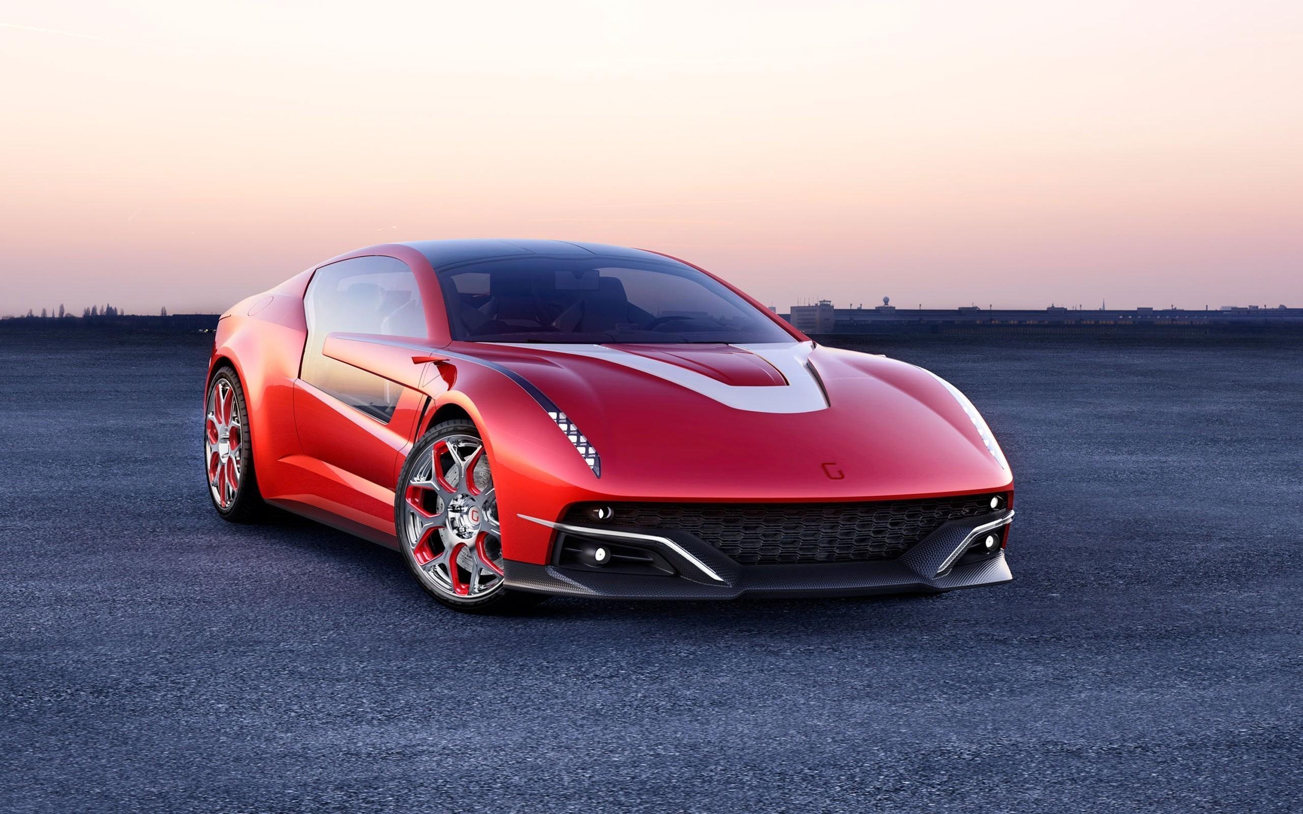 Italdesign GiuGiaro Brivido Concept Car Wallpapers HD Wallpapers 2560x1600
