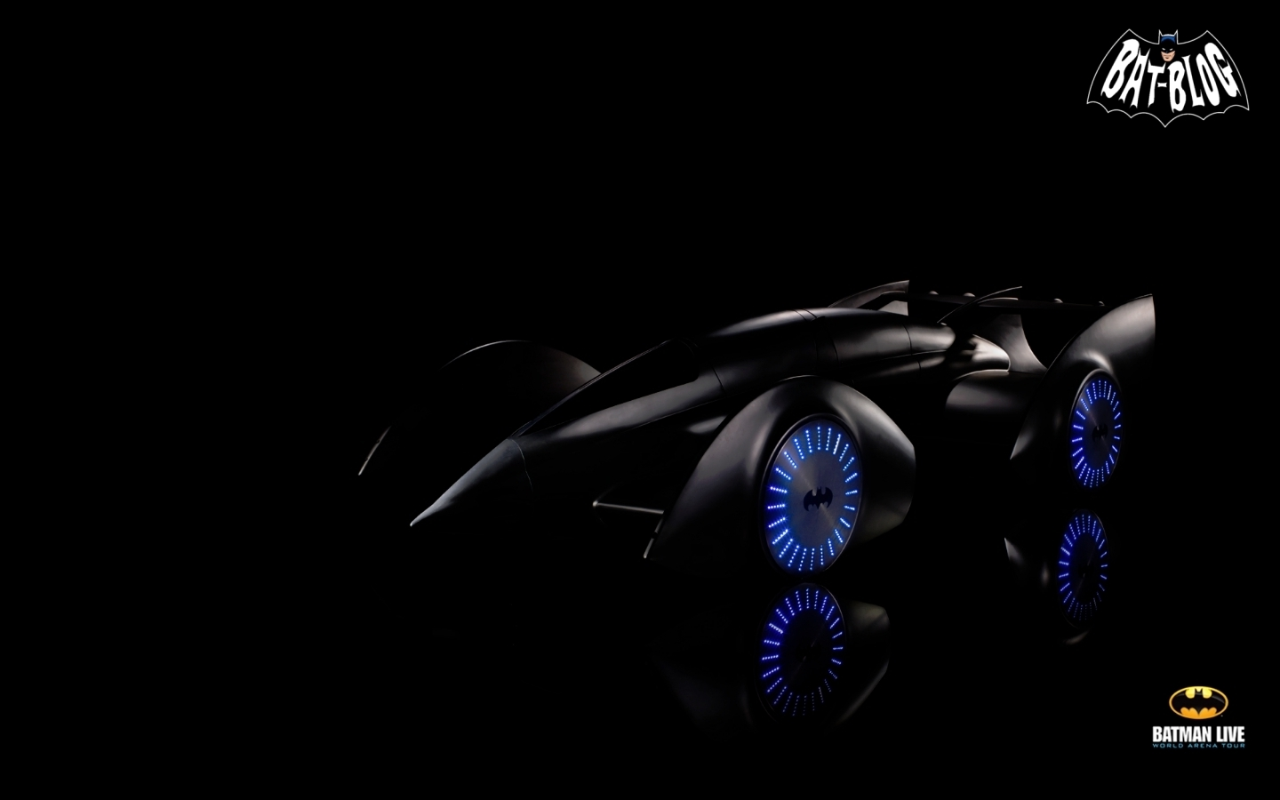 BATMAN LIVE BATMOBILE CAR   Desktop Wallpaper Backgrounds 1440x900