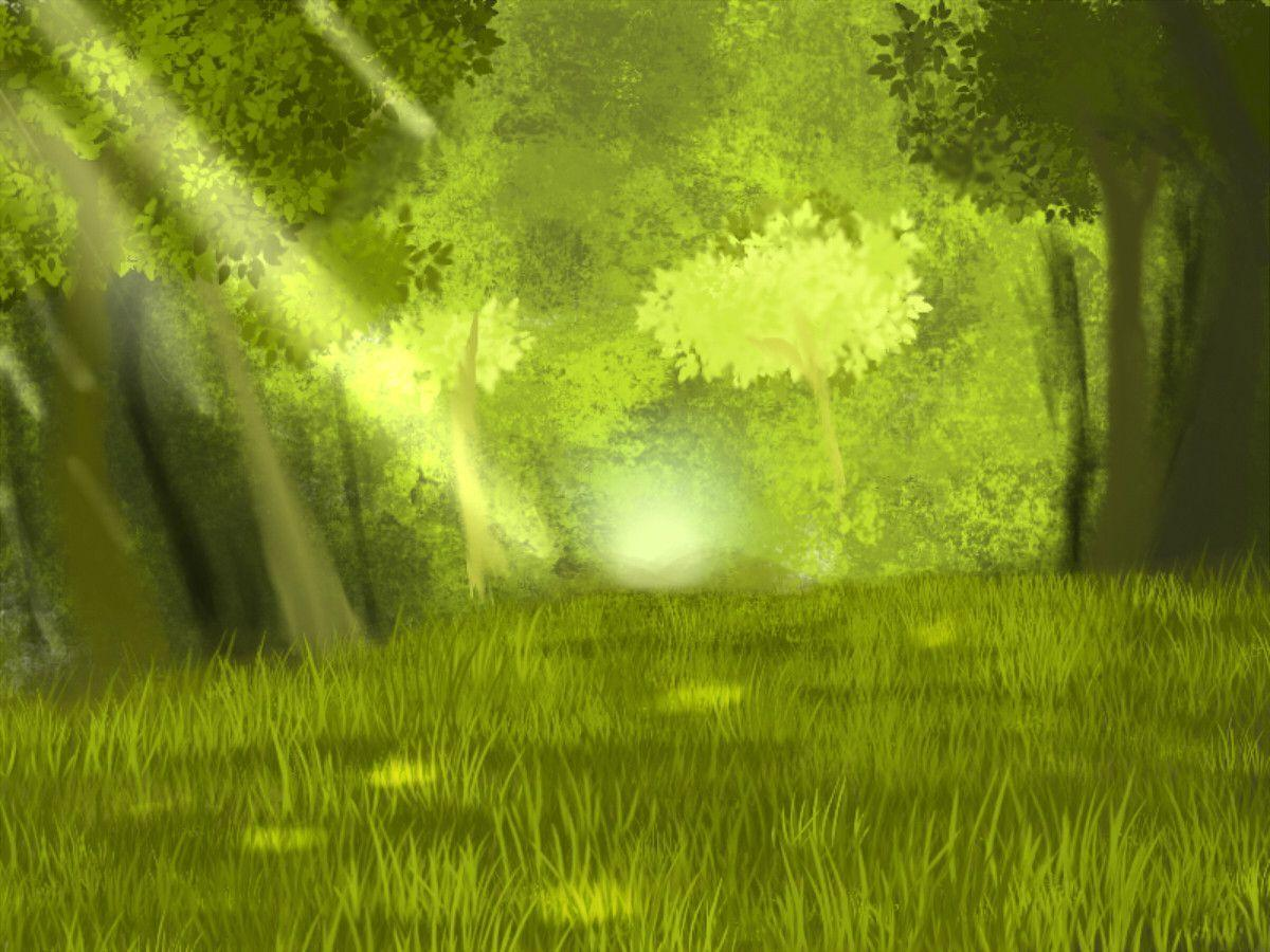 Anime Forest Backgrounds 1200x900