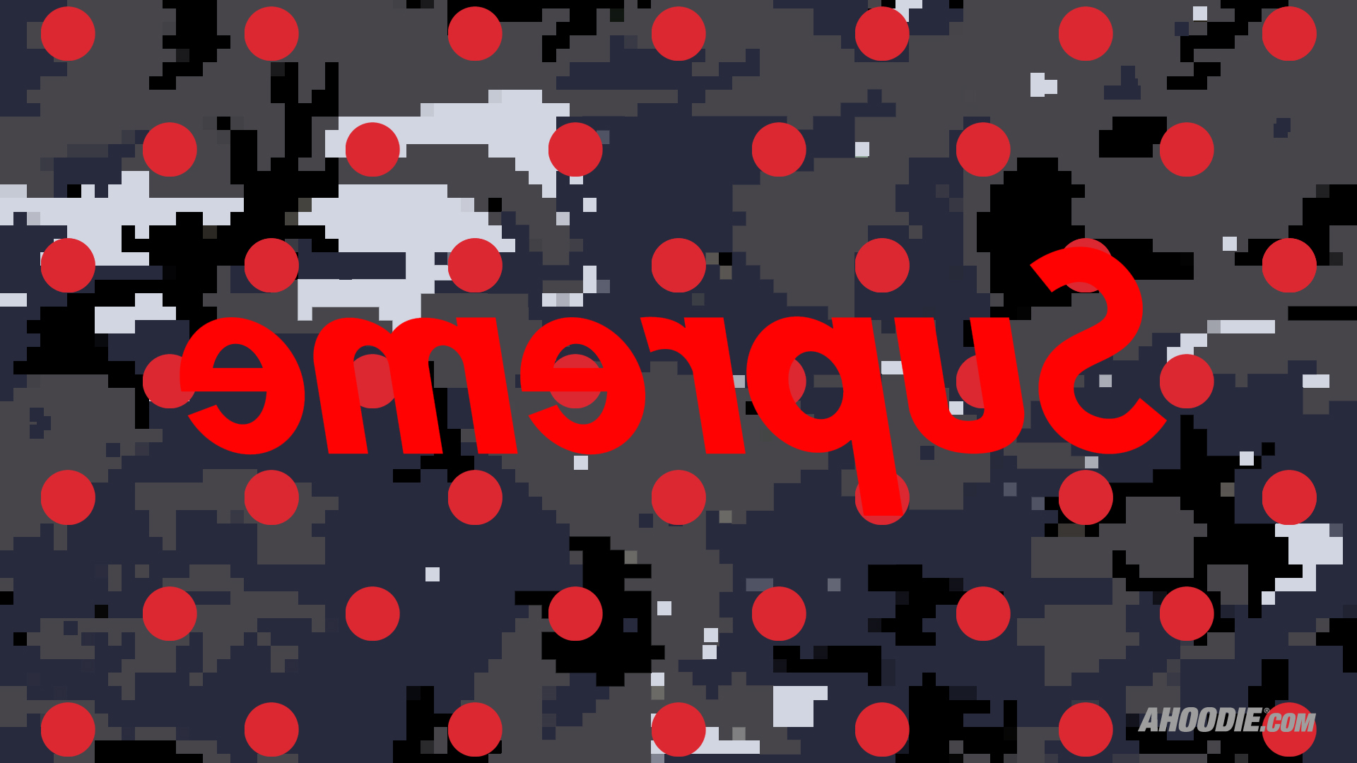 Supreme Glitch Wallpaper Computer Hd Wallpapers backgrounds 1920x1080