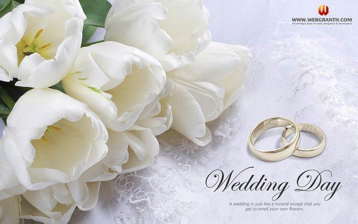 Romantic Wedding Day Wallpaper Wallpaper Pinterest 736x460