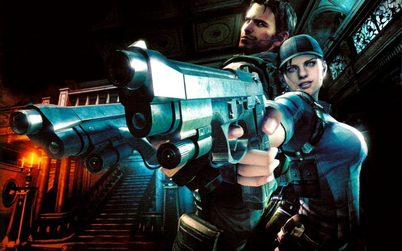 Free Download Resident Evil 5 Chris Redfield Jill Valentine
