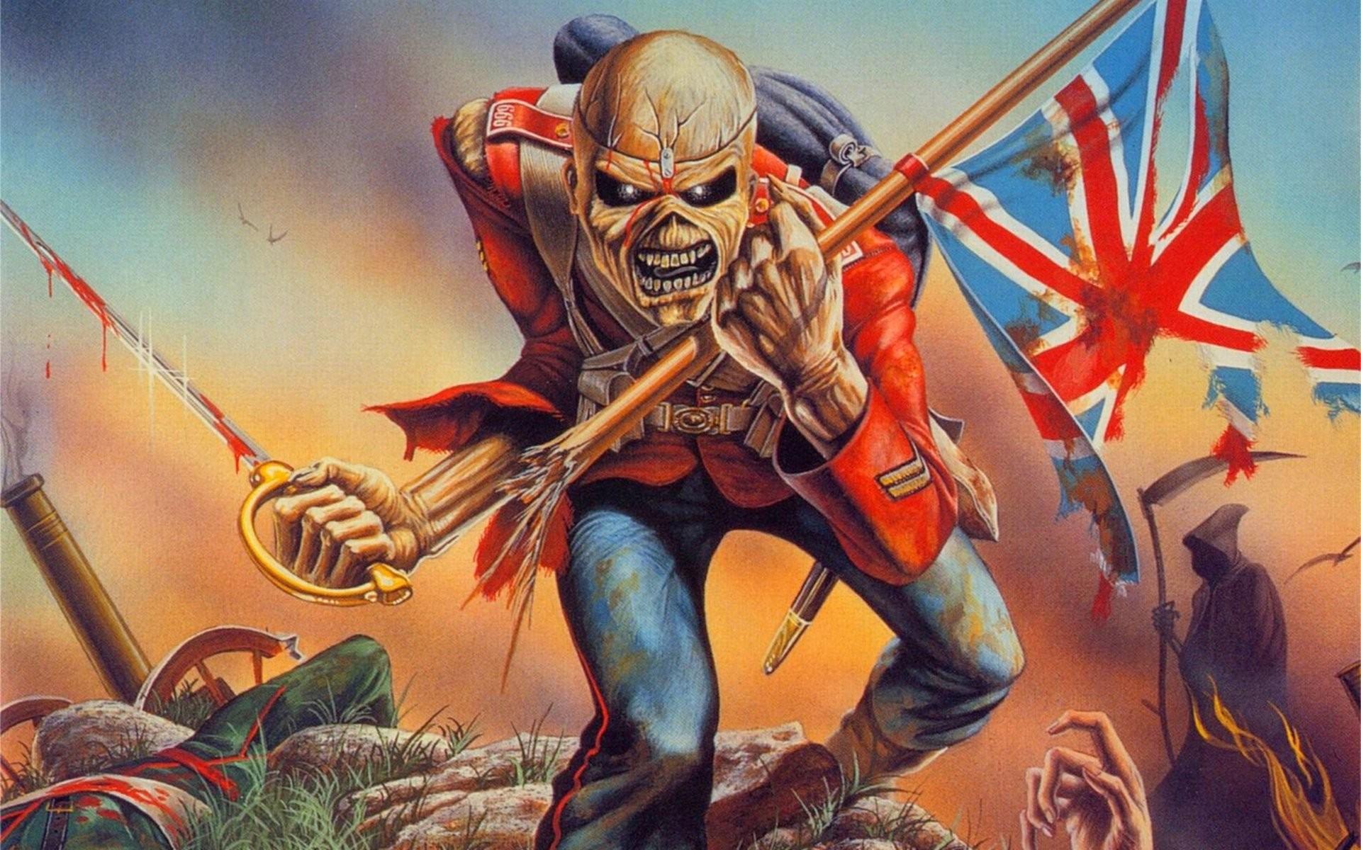 Iron Maiden Eddie Wallpaper 73 images 1920x1200