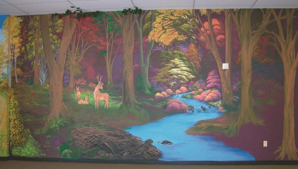 Free Download Imageimages Mural Rooms Enchanted Enchanted