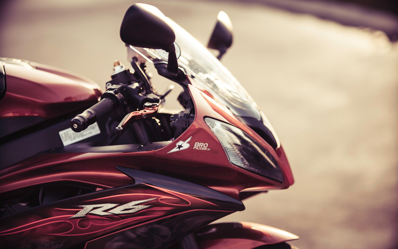 красный мотоциклы YAMAHA  № 1560859 загрузить