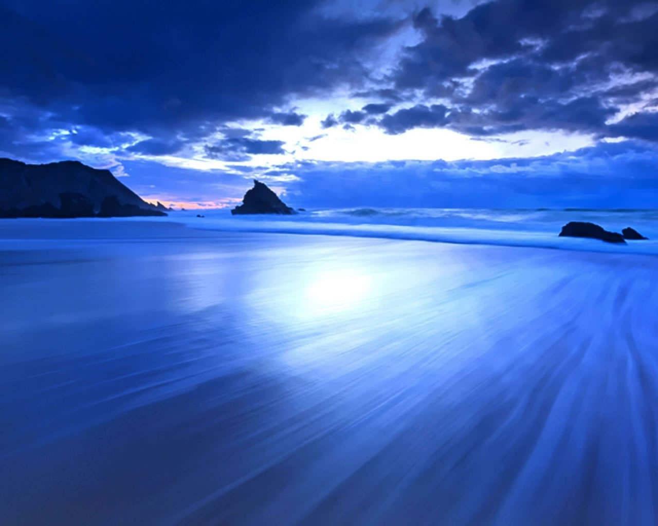 Free Images 4k Wallpaper Beach Calm Cliff Clouds Hd: Ocean Scene Wallpaper