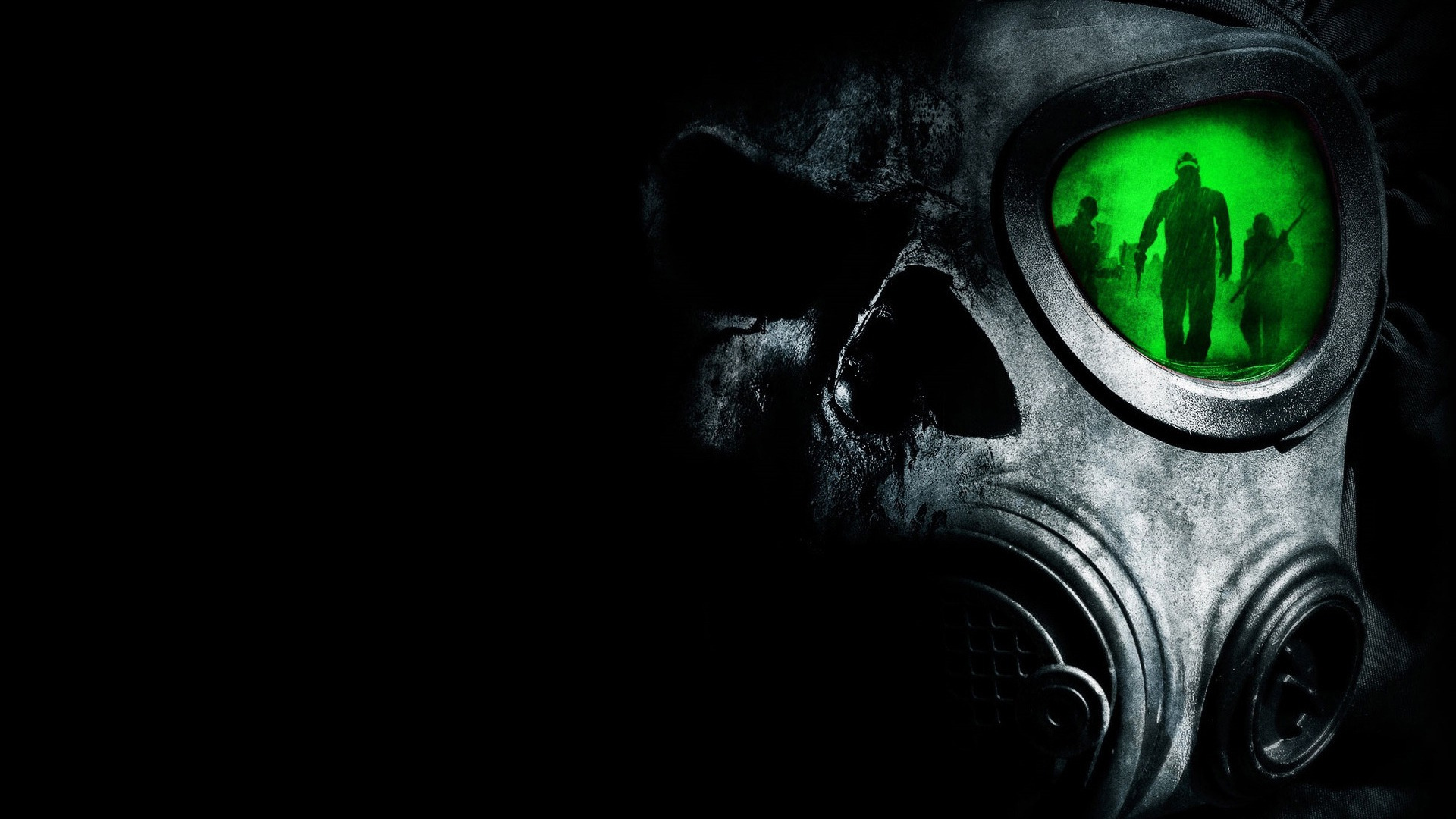 Skull Gas Mask HD Wallpaper Wallpaper 1920x1080