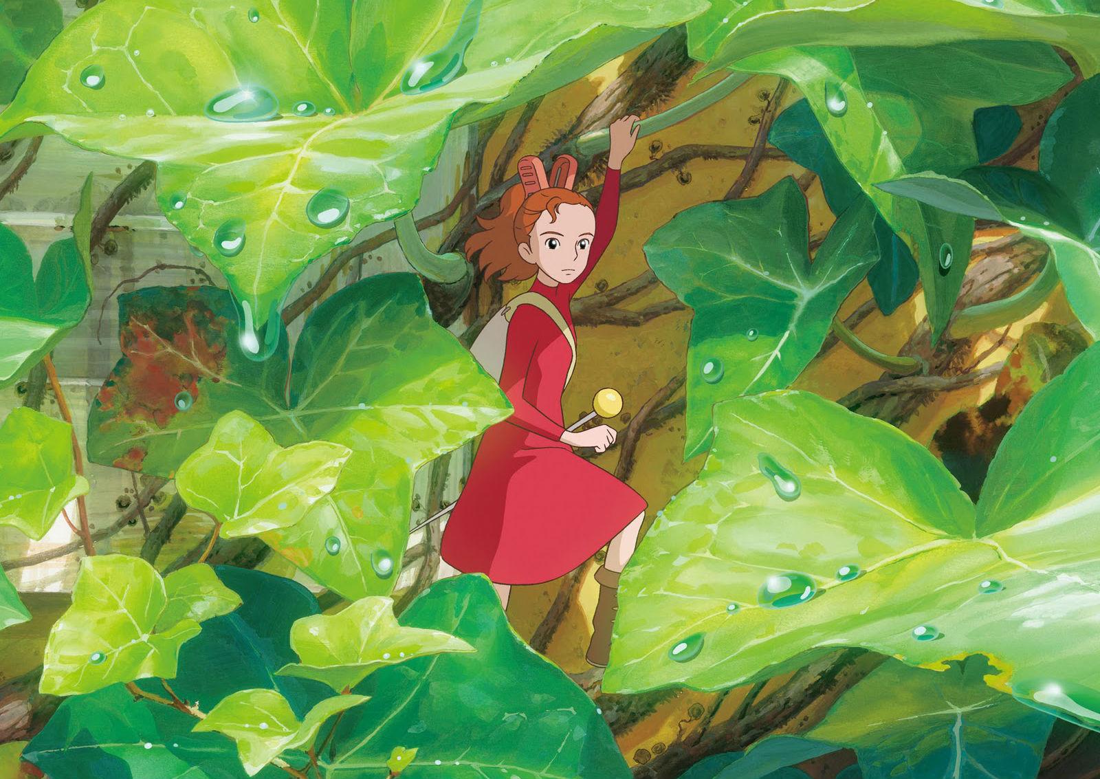 Anime   The Secret World Of Arrietty Wallpaper 1600x1133