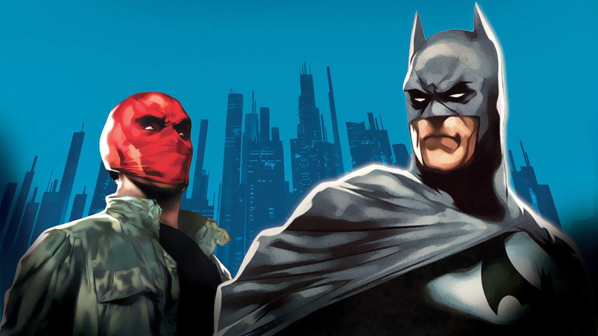 Batman Red Hood HD Wallpaper - WallpaperSafari