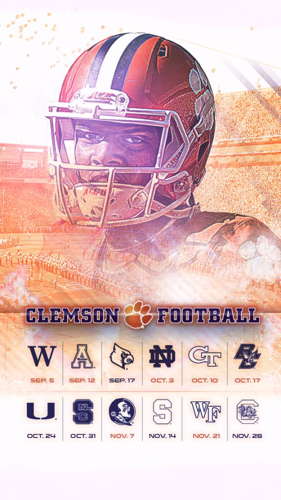 2015 Clemson Wallpaper iPhone 577x1024