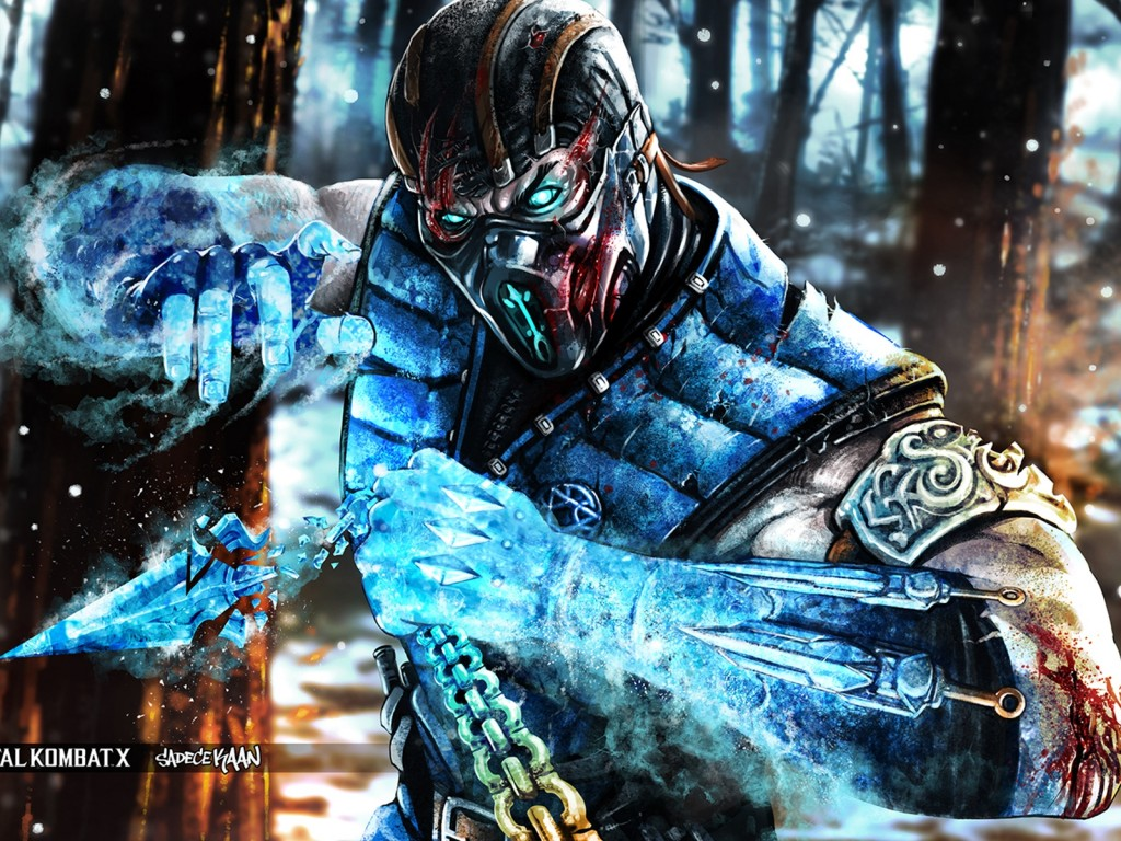 Wallpaper HD Mortal Kombat X Subzero Expert 1024x768