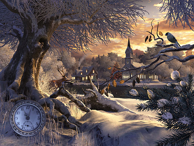Winter Wonderland 3D Holen Sie sich eine unvergleichbare schne 640x480