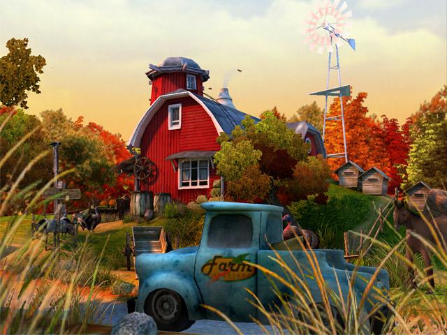 Screenshots of Thanksgiving 3D Screensaver 640x480