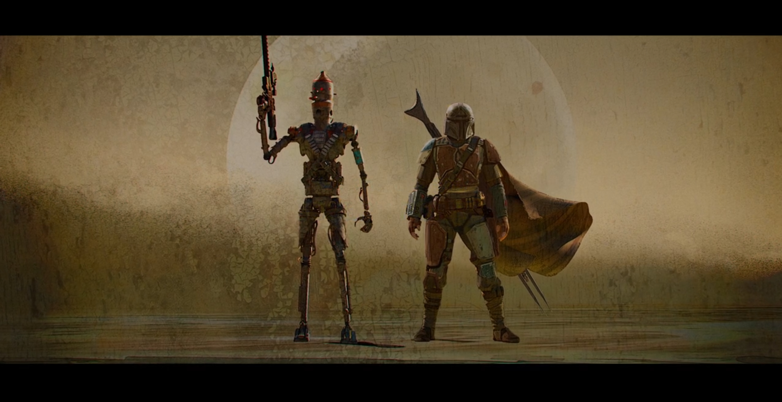The Mandalorian wallpaper The show is a fantastic start to what I 2552x1313