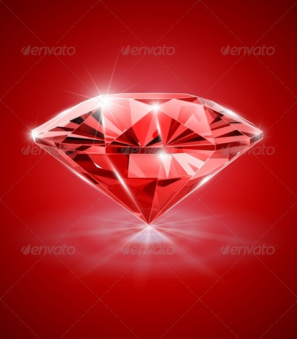 Red Diamond Wallpaper - WallpaperSafari