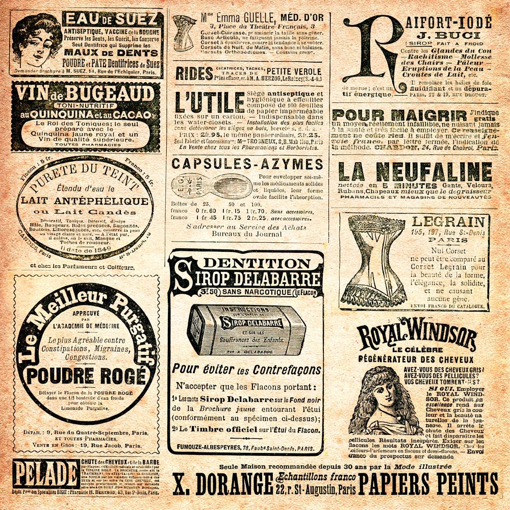 Vintage Newspaper Wallpaper Reset scale center wallpaper 1000x1000