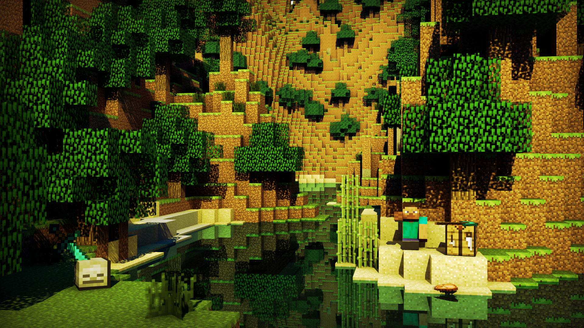 Minecraft Creeper Exclusive HD Wallpapers 3750 1920x1080