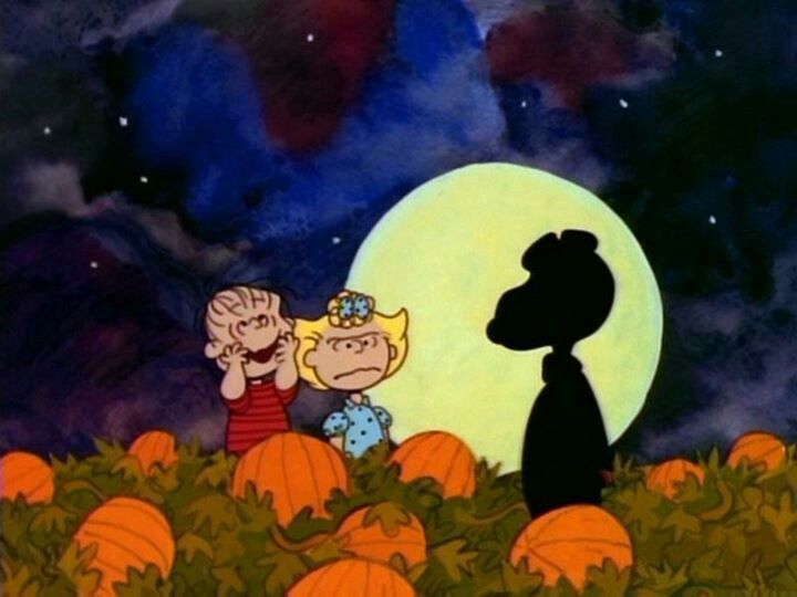 its the Great Pumpkin Charlie Brown Fall Pinterest 720x540