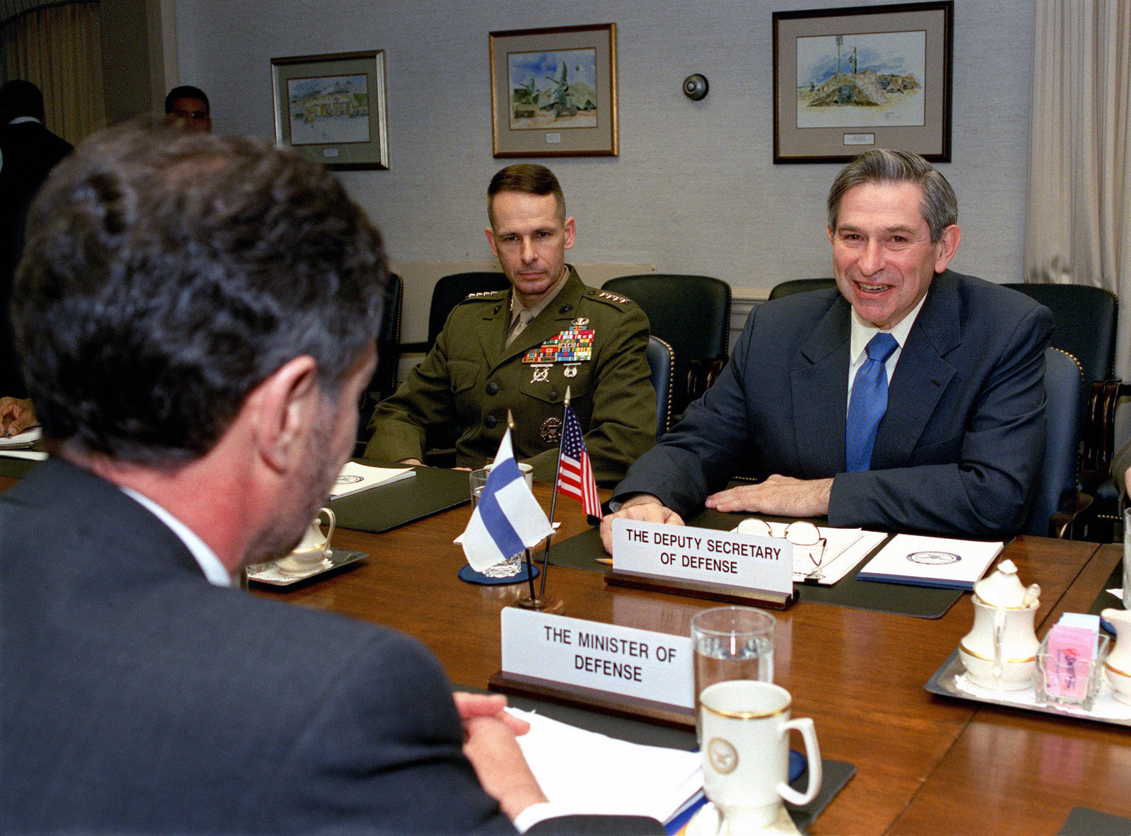 US Deputy Secretary of Defense The Honorable Paul Wolfowitz 1600x1182
