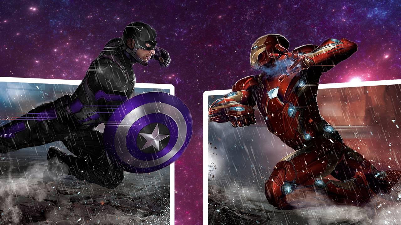 Free Download Captain America Vs Iron Man 1920 X 1080 Wallpaper
