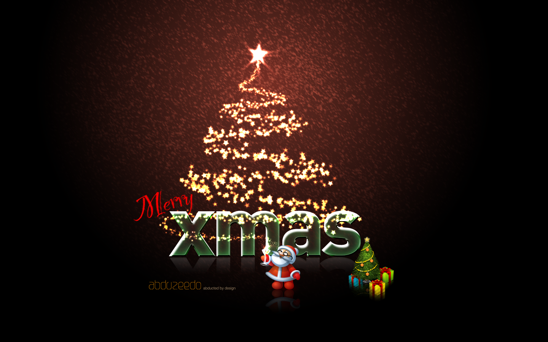 Christmas wallpaper design in photoshop Abduzeedo Design Inspiration 1440x900