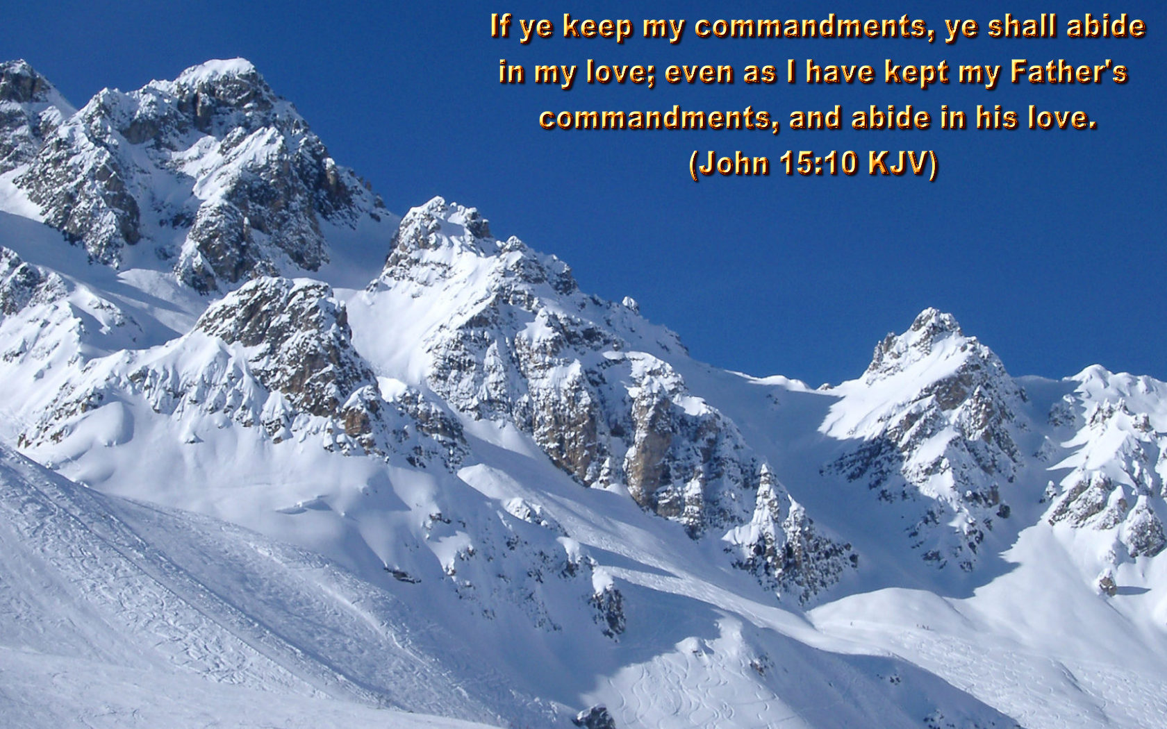 Christian Wallpapers With Bible Verses Set 02 1680x1050
