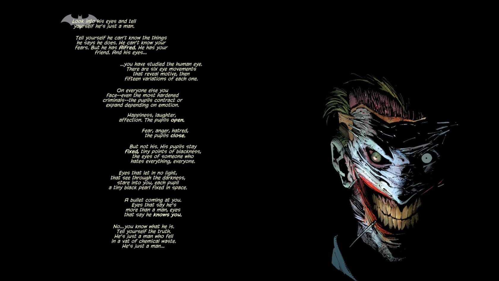 Joker Batman New 52 [1920x1080] Wallpapers Wallpapers Pictures 1680x945