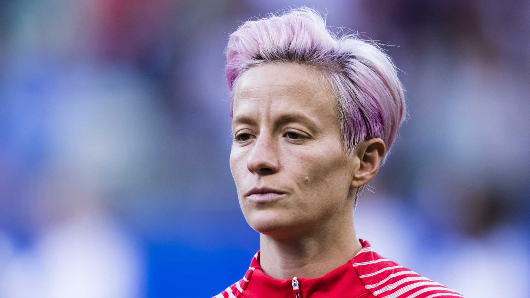 Megan Rapinoe Slammed After Ignoring National Anthem As F You To 1842x1036