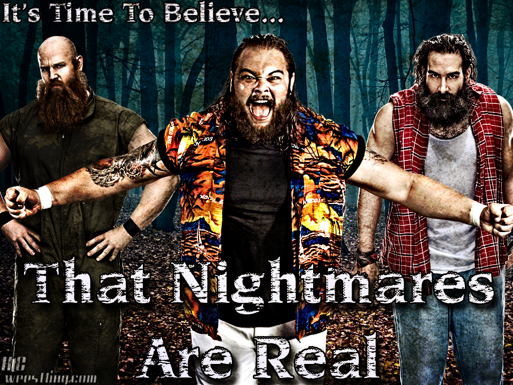 Wallpaper Of The Week The Wyatt Family The Nightmares Are Real 1024x768